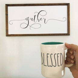 gather blessed coffee